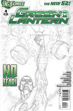Green Lantern #4 1:200 Doug Mahnke Sketch Variant DC New 52 2011 Sinestro