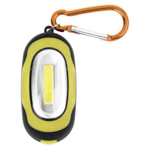 Waterproof Mini COB LED Portable Flashlight Camping Keychain Torch Light