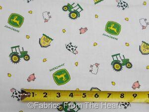 1 Yard Springs  John Deere Animal Toss  Fabric
