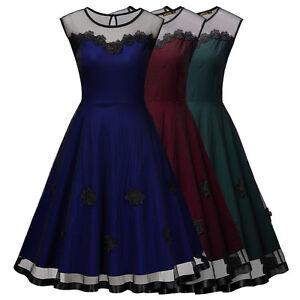 ... Cocktail Ballkleid Party Hochzeitskleid Knielang kleid Gr36-46  eBay