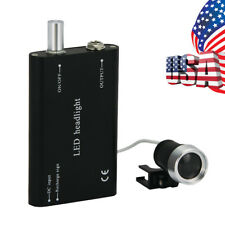 New Listingdental Lab Led Headlight Lamp Use For Surgical Medical Loupe Magnifier Black