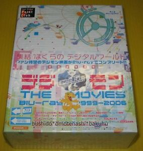Used-DIGIMON-THE-MOVIES-Blu-ray-1999-2006-First-Limited-Edition-Anime-Japan