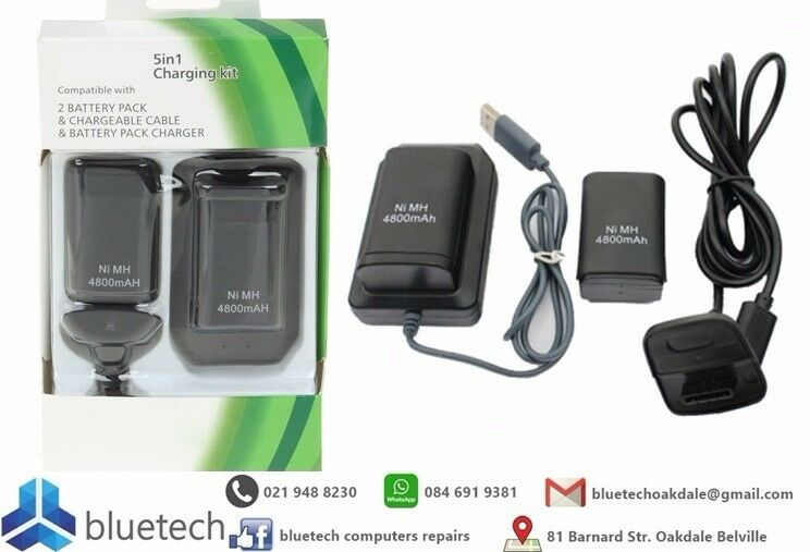 Xbox 360 4 in 1 4800mAh battery pack