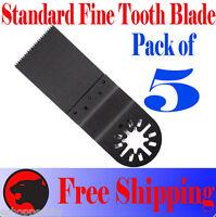5 Flush Cut Oscillating Multi Tool Blade For Ridgid Jobmax Milwaukee Ozito Bosch