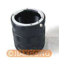 Macro Extension Tube Ring For NIKON Ai AF DSLR & SLR