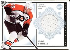 2002-03 UD Vintage Keith Primeau Framed Sweaters Jersey Card Flyers