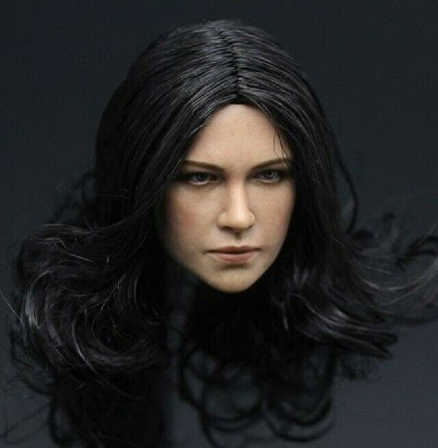 1 6 FEMALE HEAD ZCTOYS MICHELLE RODRIGUEZ ORIGINAL VERSION 1.0 DISCONTINUED
