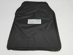 FIRESTORM 11X14  LEVEL 3A SOFT BALLISTIC PLATE INSERT SHOOTERS CUT