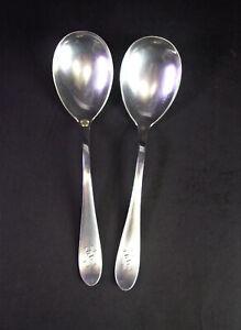 800er-Silber-Besteck-Salatbesteck-Monogramm-HH-Gebrueder-Reiner