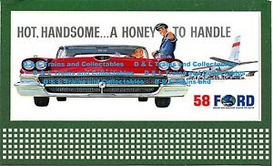 Billboard  for Lionel Holder 1964 Ford Mustang Convertible