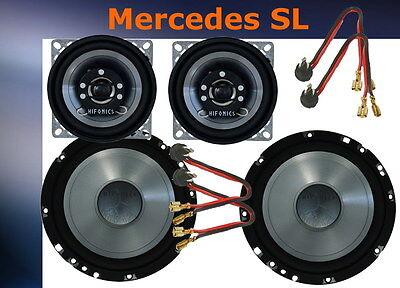 = Mercedes SL R129-W129 3-Wege Hifonics Lautsprecher  Neu