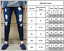 Mens-Stretch-Ripped-Skinny-Jeans-Destroyed-Frayed-Slim-Denim-Long-Pants-Trousers thumbnail 4