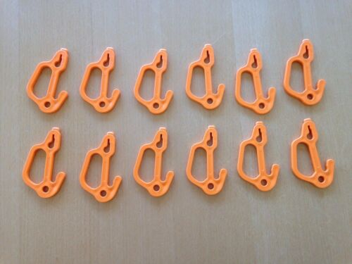 Usa Made S 12 Pack Orange crabe POT /& CRABE Piège Crochets