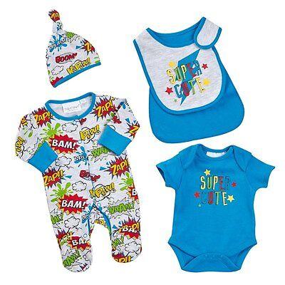 Neu Baby Jungen Strampler Set Gr.68 74 80 Cm Englandmode Hochglanzpoliert