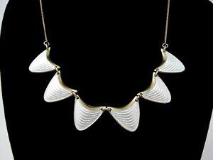 Guilloche-Enamel-Vintage-Necklace-Norway-Albert-Scharning-Sterling-Silver