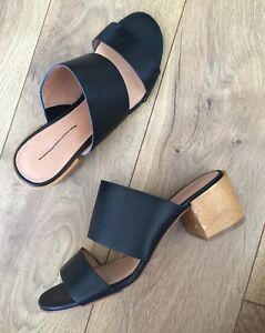 a9e8618e358 Image is loading New-Madewell-The-Kiera-Mule-Sandal-Heels-H6711-