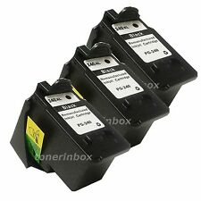 3pk Black Ink Cartridges for Canon PG-240XL PG240XL PIXMA MG3222 MG3520 MG3522