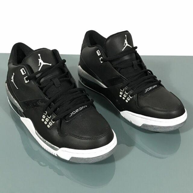 Nike Air Jordan Flight 23 Black Basketball Shoes Men's 317820 011 Size 13