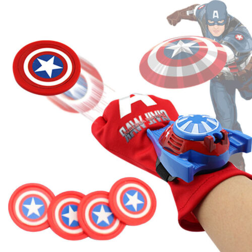 Marvel Avengers Superhero Launchers Gloves Spiderman Game Kids Boys Toys Cosplay