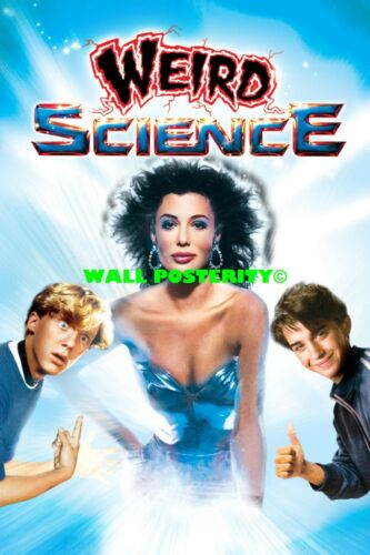 Canvas or Poster 80s 90s Poster A WEIRD SCIENCE Choose Size /& Media Type