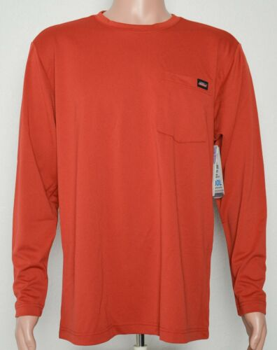 Genuine Dickies #8272 NEW Men/'s Relaxed Fit Moisture Wicking Pocket Tee