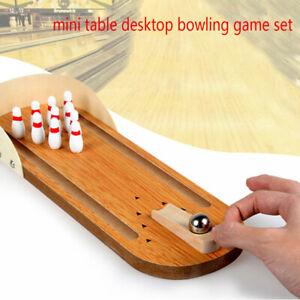 1Set-anti-stress-table-desktop-mini-bowling-game-set-wooden-family-party-nn