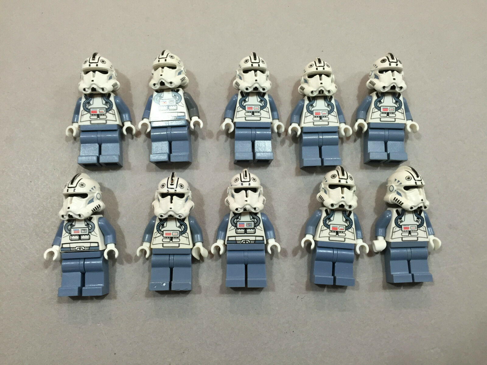 LEGO Clone Trooper Lot of 10 Star Wars Minifigure minifig Huge LOT Clones O135