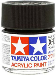 image is loading tamiya color acrylic x 10 gun metal model - Tamiya Color