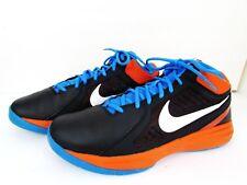 c77c8ff555e item 6 Nike OVERPLAY VIII Black Orange Blue Basketball Shoes Size 10.5 -Nike  OVERPLAY VIII Black Orange Blue Basketball Shoes Size 10.5