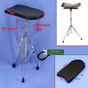 Tattoo-Tripod-Stand-Arm-Leg-Rest-Studio-Chair-Sponge-Pad-Height-Adjustable-AU