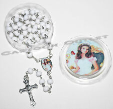 12 pc QUINCEANERA FAVORS ROSARY RECUERDOS GIFTS ROSARIO MIS 15 ANOS/SWEET 16 new