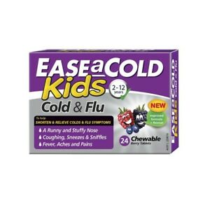 Ease A Cold Kids Cold & Flu Soft Chewable Capsules 24pk