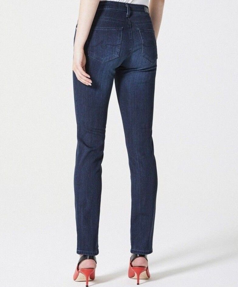 NWT ADRIANO goldSCHMIED Sz28 THE PRIMA CIGARETTE MIDRISE STRETCH JEANS GALLANT