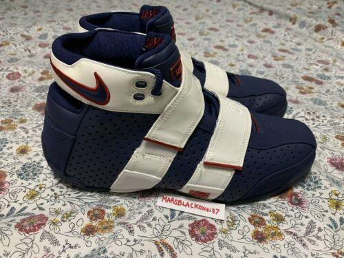 Nike Zoom Lebron 20-5-5 Olympic PE FIBA 2006 Playe