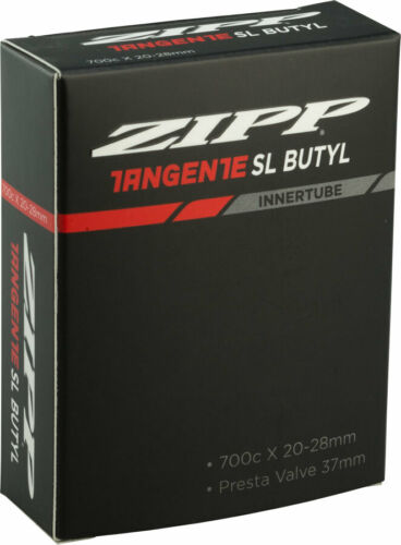 700 X 20-28 mm 37 mm aluminium Presta Valve Zipp Tangente Butyl Tube