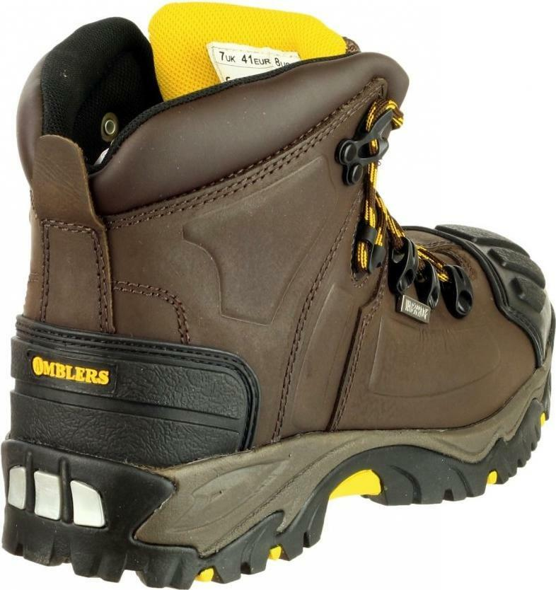 Amblers Safety FS39  Herren Steel Toe Cap Slip Resistant Safety Role S3 Safety Resistant Stiefel Braun 571b93