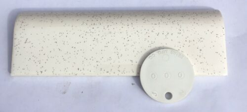 /'Cambridge/' 2x6 Vintage Mudcap Tile in Speckled White 1 Piece Surplus
