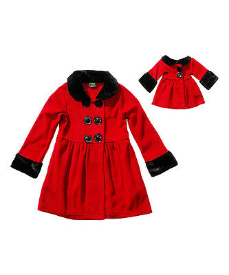 "New Dollie /& Me Coat /& Doll Coat SZ 7 8 10 12 FITS AMERICAN GIRL /& 18/"" Dolls"