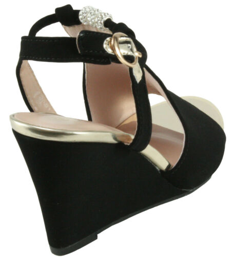 Forever Women/'s Ashlyn-56 Peep Toe Wedge High Heel Slingback Sandals