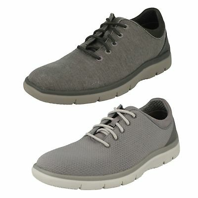 retrasar conformidad pala  Mens Clarks Casual Lace Up Trainers 'Tunsil Ace' | eBay