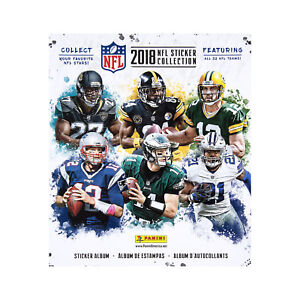 Details about STICKER ALBUM - 2018-19 TOPPS FOOTBALL NFL + 10 FREE STICKERS  INCLUDED INSIDE