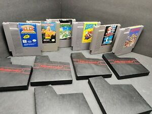 Set-6-Games-Mario-Bross-more-Nintendo-NES-Game-Authentic-Tested-Working
