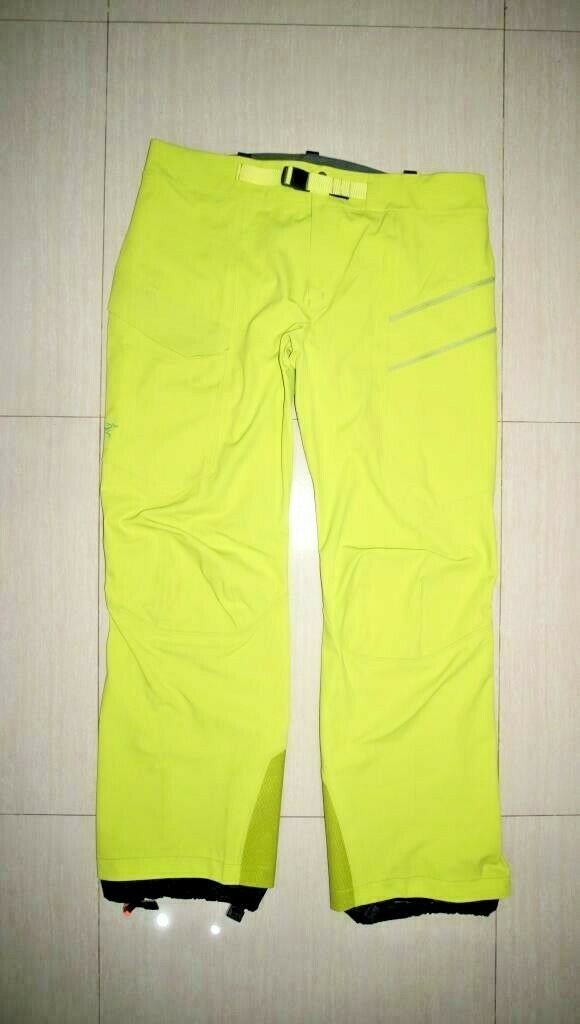 Men's Authentic Sawatch Pants Green Boa Water-Repellent size XLARGE