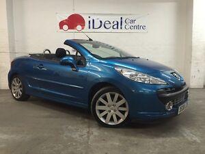 Peugeot 207 Cc Breaking For Spares Neysha Blue Low Mileage Ebay