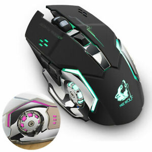 2-4-GHz-PC-Maus-Kabellos-USB-Wireless-Mouse-Gaming-Computer-Notebook-Laptop-DE