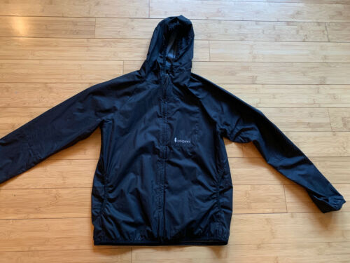 Cotopaxi Paray Windbreaker Lightweight Jacket Blac