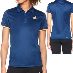 Details zu Adidas Court Polo Damen Poloshirt Shirt Sport Climalite Gr. XS XL NEU