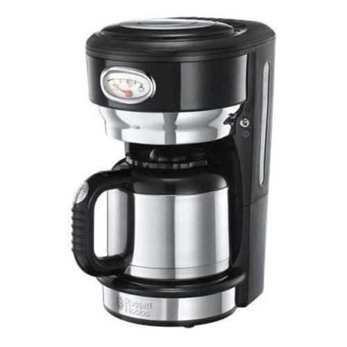 Russell Hobbs Thermo-Kaffeemaschine Retro Vintage Filterkaffeemaschine