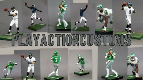 Choice of 1 Philadelphia Eagles Custom Action Figure made w// Mcfarlane NFL