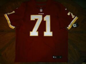 huge discount bf12b 1a722 Details about Authentic Williams Washington Redskins NIKE Elite Jersey 56  game pro ON-FIELD